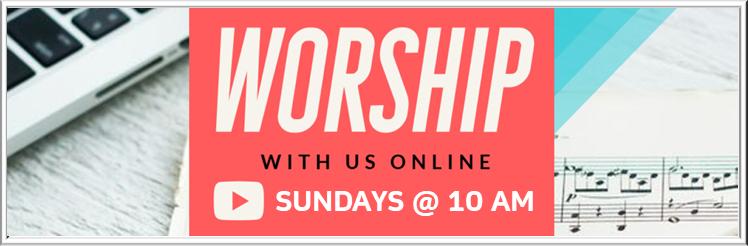 worship online banner